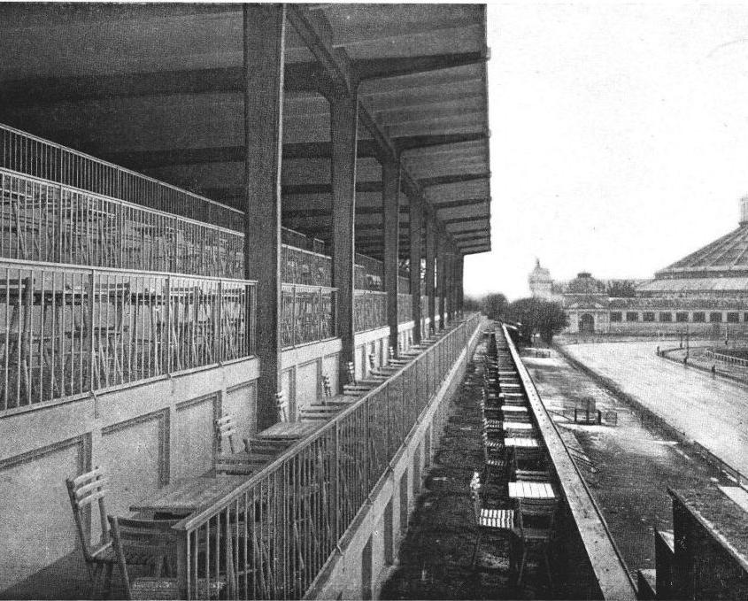 Krieau Tribüne 1912