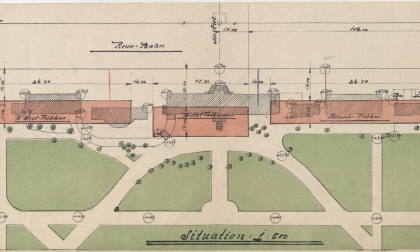 Krieau Situationsplan 1911