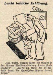 Zeitgenössische Karikatur Quelle: Volkspost, 14.10. 1932, Titelblatt