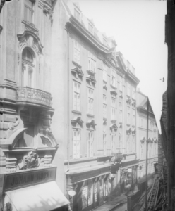 Das Palais Wilczek in einer Ansicht von 1910 Quelle: ONB, Bildarchiv, Stauda, August, 1910