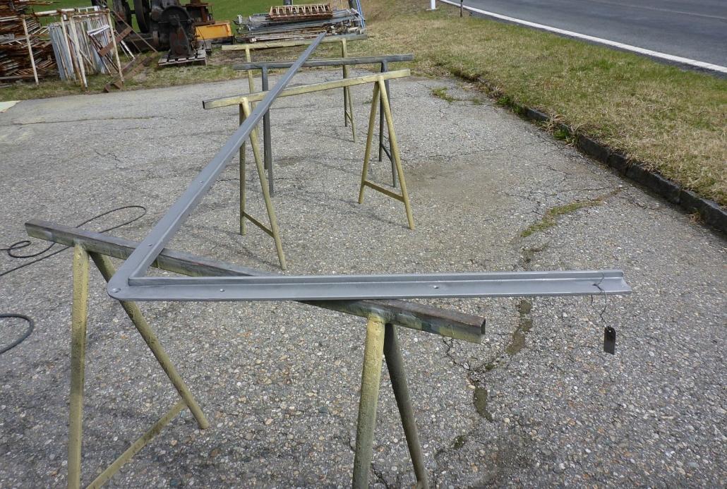 Vor der technischen Sanierung wurden alle Teile von der Firma Schaller in Mühlboden/Kärnten sandgestrahlt.