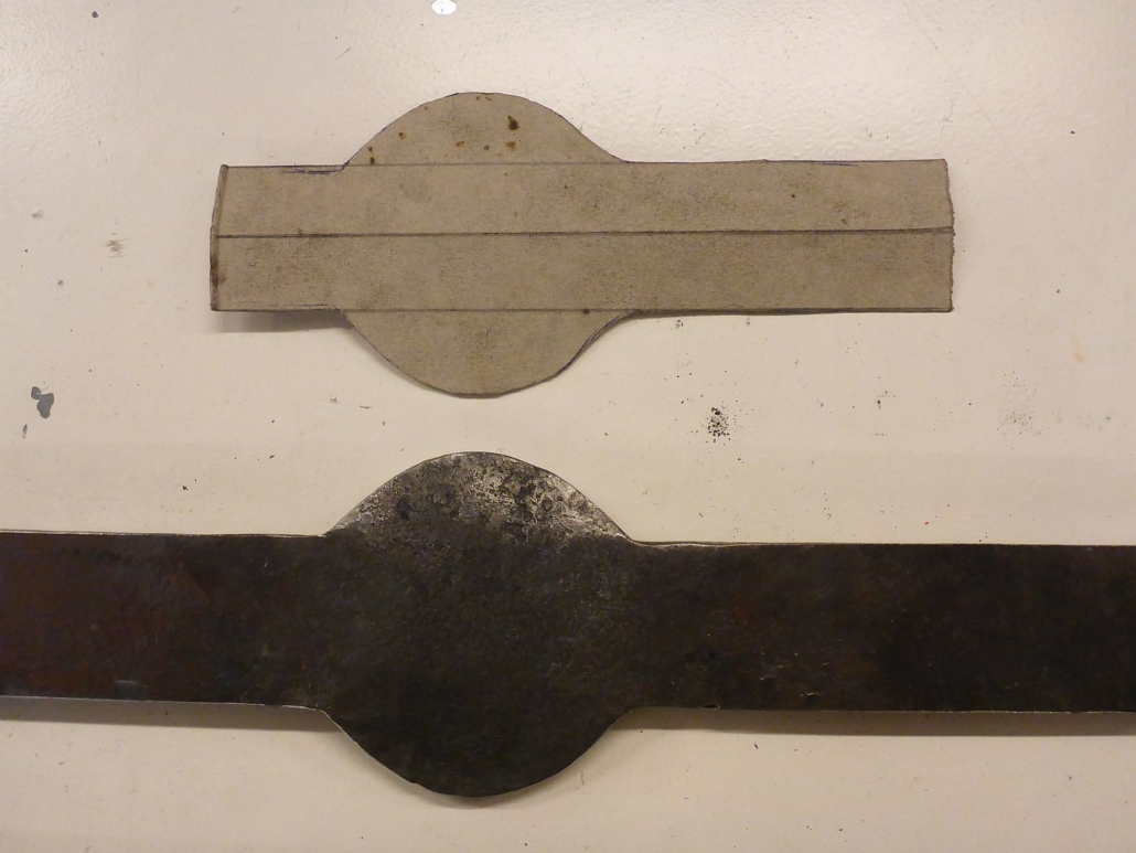 Passgenau nach zuvor erstellter Schablone gearbeitet.